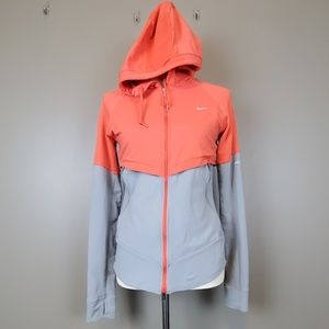 Nike Running Jacket with Concealed Hood Size M